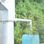 The Water Project: Nzimba Community A -  Filling Up At The New Well