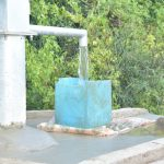 The Water Project: Nzimba Community A -  Filling Up Container At The Well