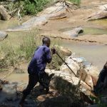 The Water Project: Nduumoni Community A -  Construction