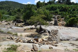 The Water Project:  Dam And Well Progress