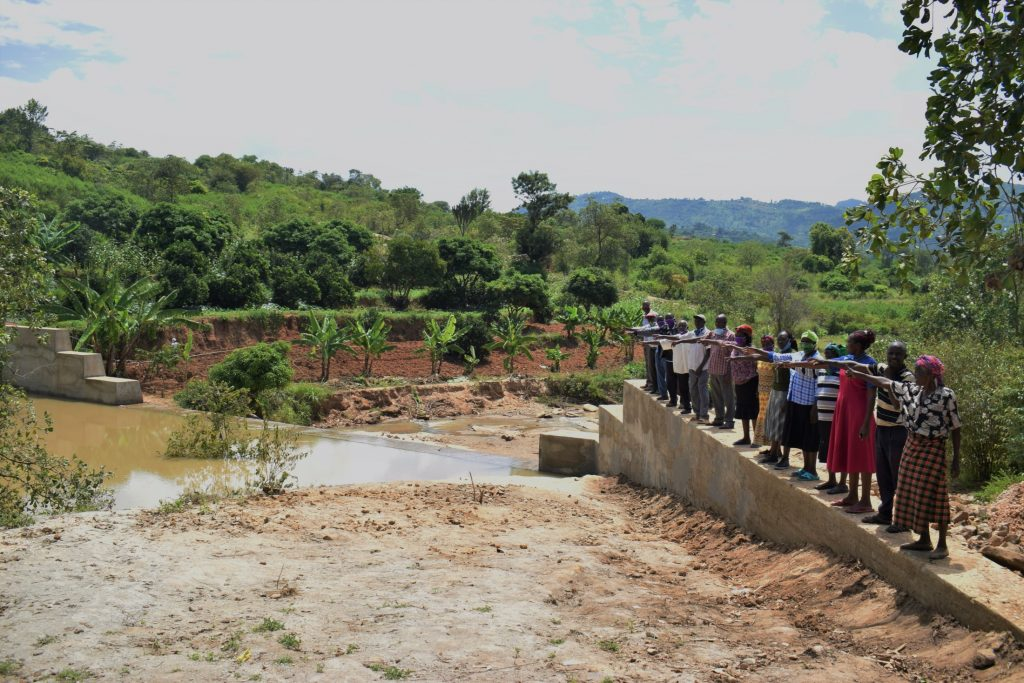 The Water Project : kenya20316-celebrating-the-new-dam