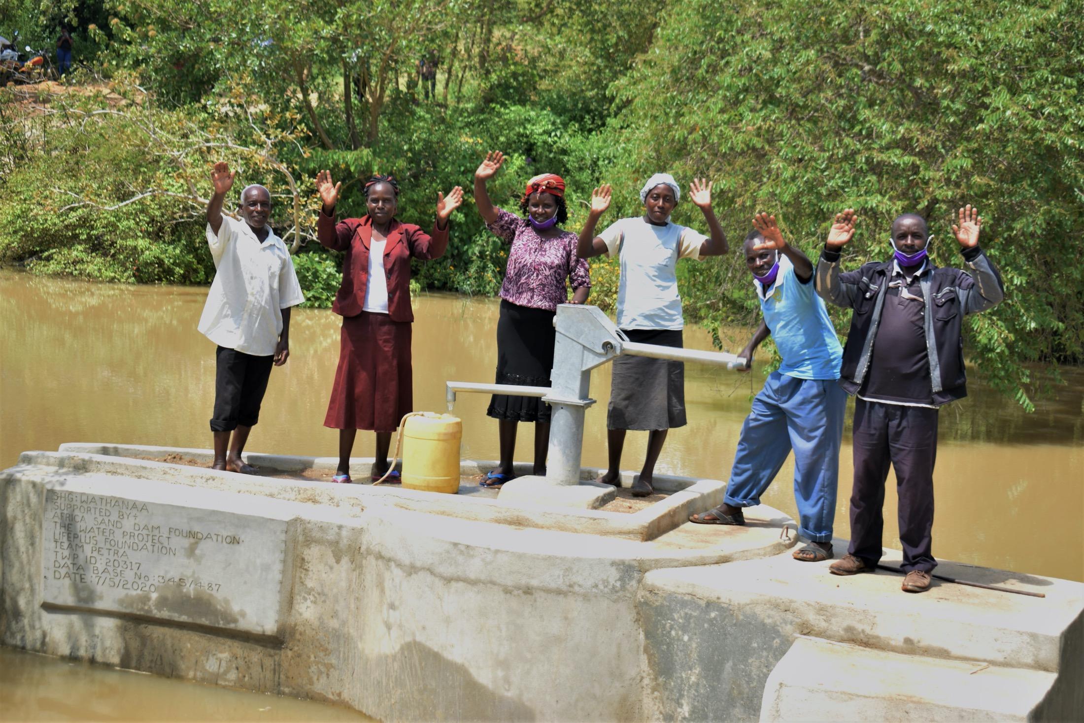 The Water Project : kenya20317-celebrating-the-well-2