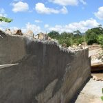 The Water Project: Nduumoni Community A -  Cement Work On Dam Walls