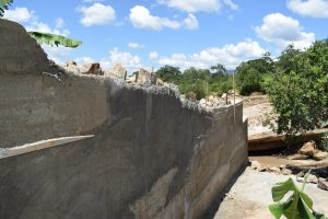 The Water Project:  Cement Work On Dam Walls