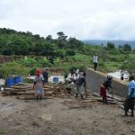 The Water Project: Nduumoni Community A -  Dam Boards