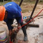 The Water Project: Lungi, Rosint, #26 Old Town Road -  Drilling