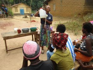 The Water Project:  Lesson On Tippy Tap Handwashing Stations