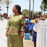The Water Project: Lungi, Madina, St. Mary's Junior Secondary School -  School Principal Madam Mevinal E Sumanna