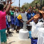 The Water Project: Lungi, Madina, St. Mary's Junior Secondary School -  Celebrating Safe Drinking Water