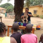 The Water Project: Lungi, Thomossoh, #24 Thullah Street -  Hygiene Facilitator Teaching About Diarhea