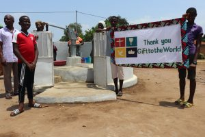 The Water Project:  Small Boy Making Statement