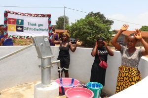 The Water Project:  Women Celebrating With The Banner