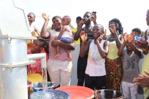The Water Project:  Community Members Celebrate