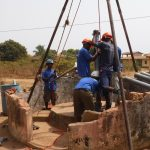 The Water Project: Lungi, Thomossoh, #24 Thullah Street -  Drilling Installation Of Four Inch Pipe