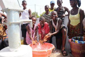 The Water Project:  Kids Splashing Water