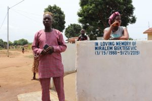 The Water Project:  Section Chief Pa Almammy Smart Kamara Making Statement