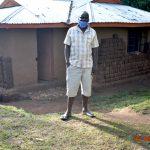 The Water Project: Mungakha Community, Nyanje Spring -  Patrick Okhaso Nyanje Outside His Home