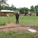 The Water Project: Mungakha Community, Asena Spring -  Philip Omukiti On His Homestead
