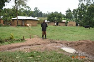 The Water Project:  Philip Omukiti On His Homestead