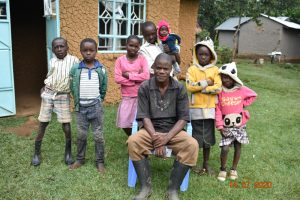 The Water Project:  Philip Omukiti With His Nieces And Nephews