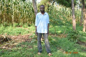 The Water Project:  Silas Burudi