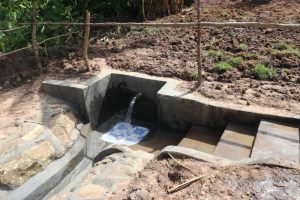 The Water Project:  Completed Litinyi Spring