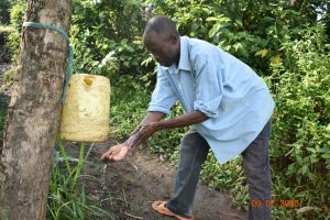 The Water Project:  Silas Washes His Hands At The Spring
