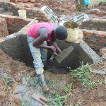 The Water Project: Ewamakhumbi Community, Mukungu Spring -  Inside Plastering