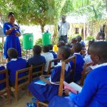 The Water Project: Mutiva Primary School -  A Word From The Sanitation Teacher At Training