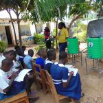 The Water Project: Mutiva Primary School -  Facilitator Laura Alulu Heads Training