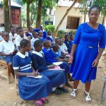 The Water Project: Mutiva Primary School -  Sanitation Teacher