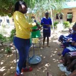 The Water Project: Mutiva Primary School -  Training On Handwashing
