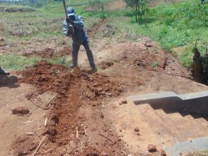 The Water Project:  Cut Off Drainage Digging