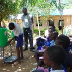 The Water Project: Mutiva Primary School -  Demonsration Of Handwashing