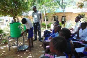The Water Project:  Demonsration Of Handwashing