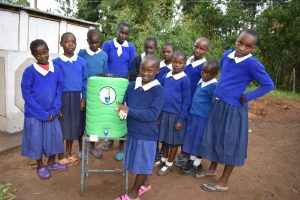 The Water Project:  Demonstration Of Handwashing