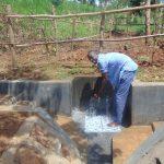 The Water Project: Ewamakhumbi Community, Mukungu Spring -  Water Celebrations