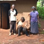 The Water Project: Emulembo Community, Gideon Spring -  Everlyne With Her Husband And Son Patrick