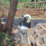 The Water Project: Ewamakhumbi Community, Mukungu Spring -  Happy Day