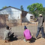 The Water Project: Mutiva Primary School -  Reinforcement Of The Wire