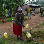 The Water Project: Bukhanga Community, Indangasi Spring -  Josephine Washes Her Hands At Home