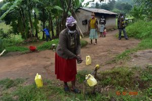 The Water Project:  Josephine Washes Her Hands At Home