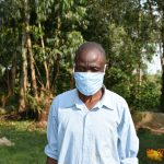 The Water Project: Munenga Community, Burudi Spring -  Silas Wears His Mask