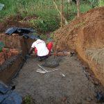 The Water Project: Ewamakhumbi Community, Mukungu Spring -  Brick Measurements