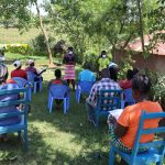 The Water Project: Mwituwa Community, Shikunyi Spring -  Ongoing Covid Sensitization