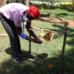 The Water Project: Mwituwa Community, Shikunyi Spring -  Training On How To Use Tippy Tap Handwashing Stations