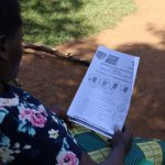 The Water Project: Mwituwa Community, Nanjira Spring -  Handouts Used At The Training