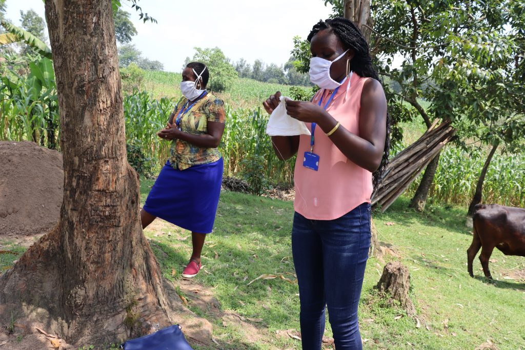 The Water Project : covid19-kenya18113-mask-making-2