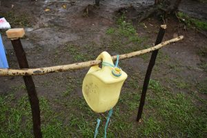 The Water Project:  A Set Up Handwashing Station