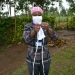 The Water Project: Burachu B Community, Shitende Spring -  Cloth Mask Making